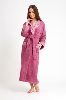 5887d52402b2d Купить женский махровый халат, женские махровые халаты в интернет ...
