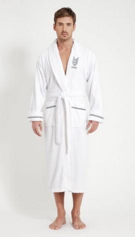 96e09b3b49de4 Мужской махровый халат с капюшоном и без него, купить мужские ...